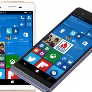 Japanese maker releases thinnest Windows 10 smartphone to date
