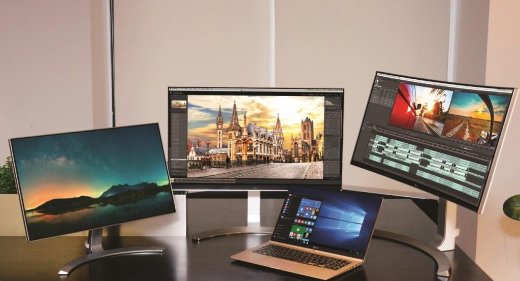 LG 34UC98 monitors