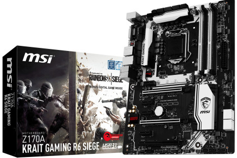 MSI bundles Skylake motherboard with PC game