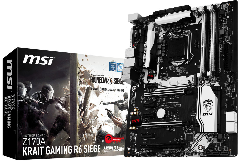 MSI bundles Skylake motherboard with PC game