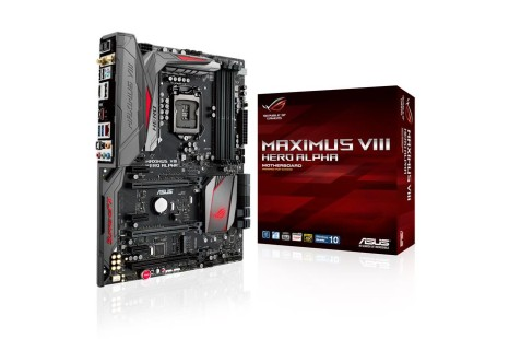ASUS launches the Maximus VIII Hero Alpha motherboard