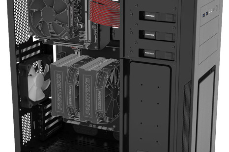 Phanteks presents PC case for two computers