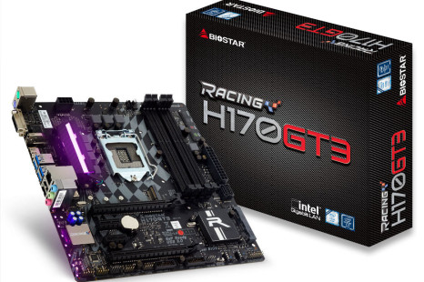 Biostar unveils the Racing H170GT3 motherboard
