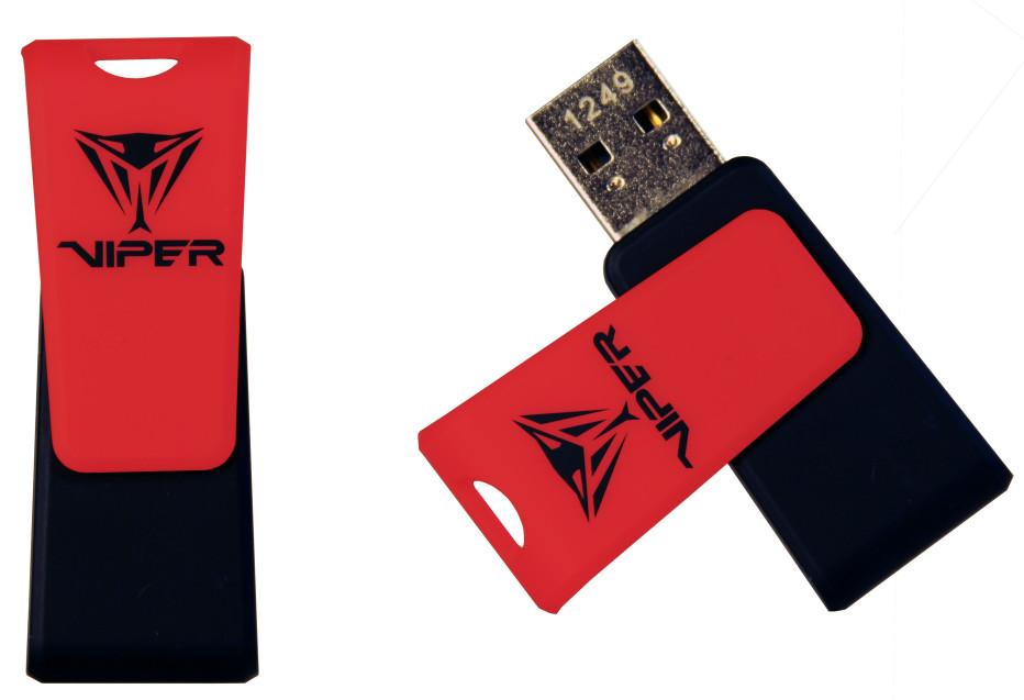 Patriot Memory unveils Viper and Supersonic Mega USB flash drives