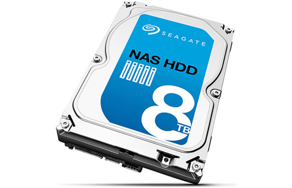 Seagate debuts 8 TB NAS hard drive