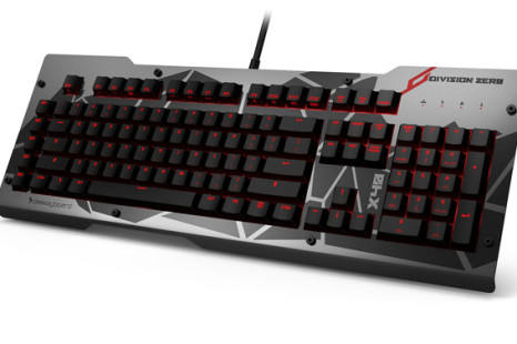 Das Keyboard rolls out Division Zero gaming gear