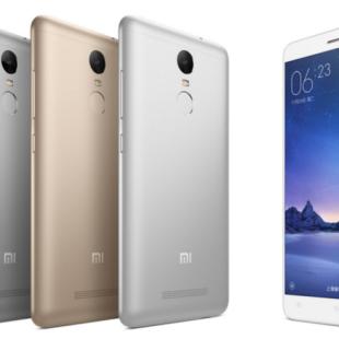 Xiaomi debuts the Redmi Note 3 Pro smartphone