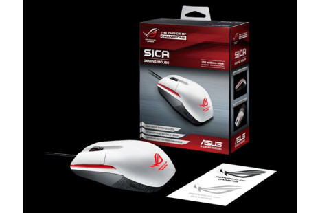 ASUS debuts the ROG Sica White gaming mouse