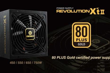 Enermax debuts the Revolution X't II PSUs