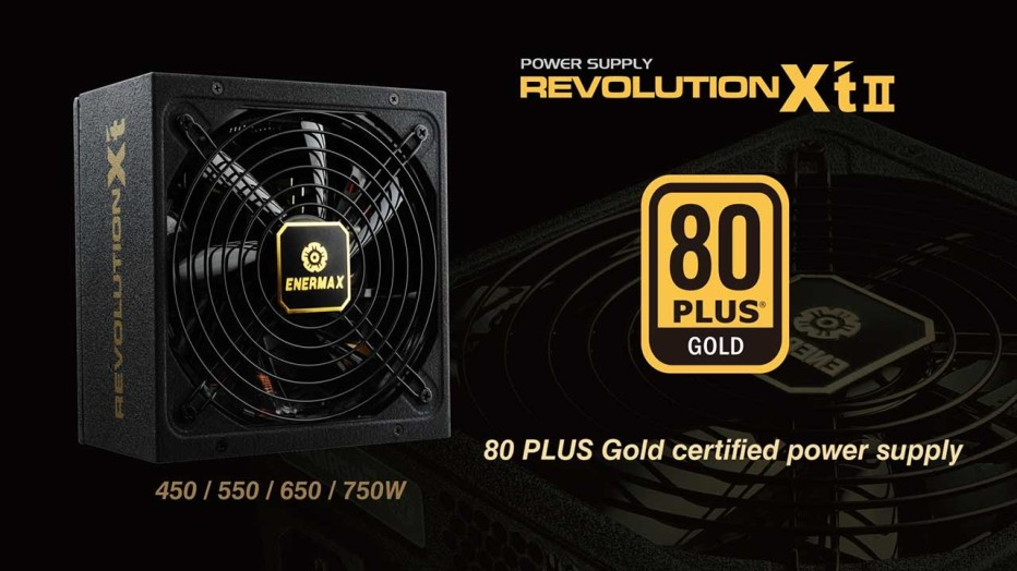 Enermax debuts the Revolution X't II PSUs