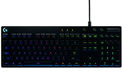 Logitech presents the G810 Orion Spectrum gaming keyboard