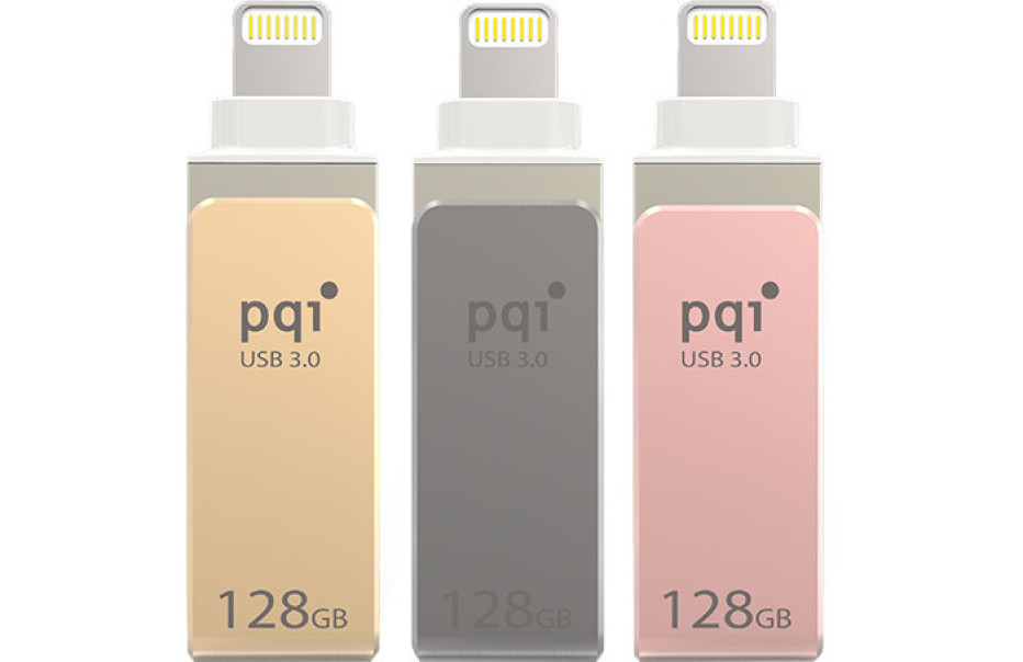 PQI debuts the iConnect mini flash drive