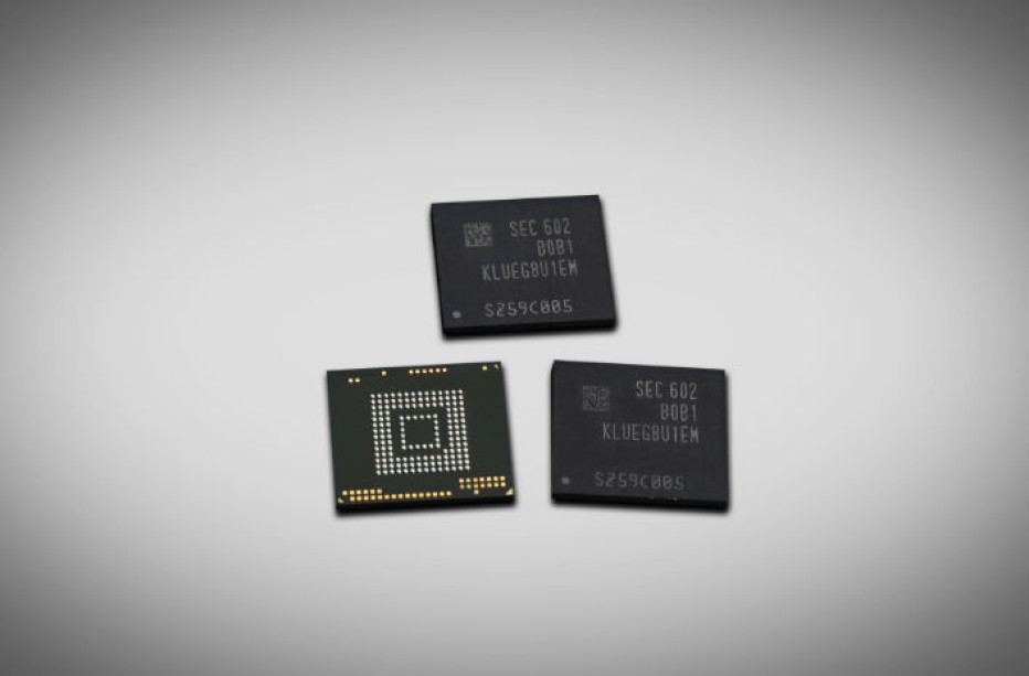 Samsung intros 256 GB flash memory chips