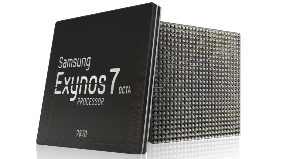 Samsung presents Exynos 7870 SoC