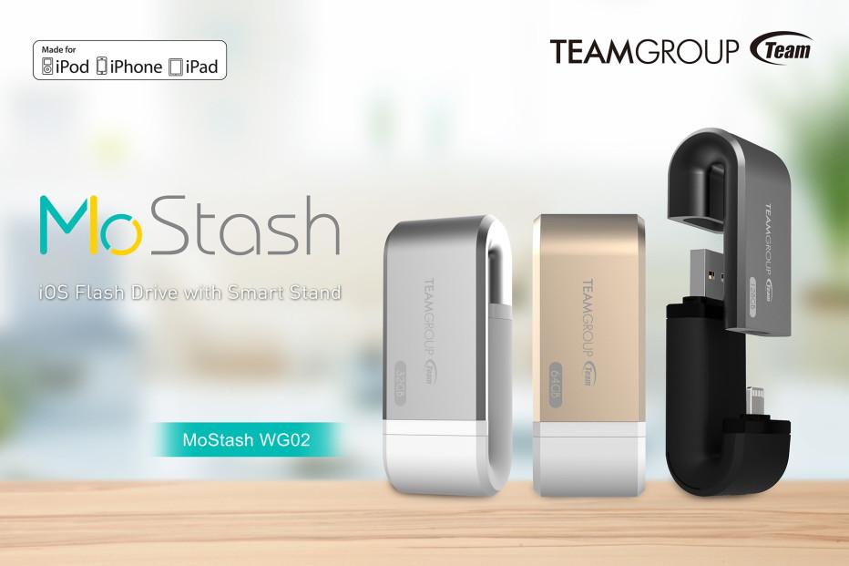 Team Group presents the MoStash iOS flash drive