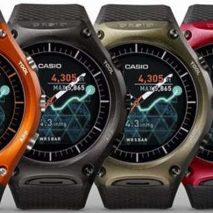 Casio launches its first smartwatch