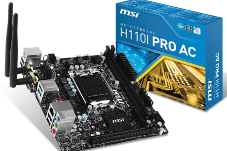 MSI launches another Skylake mini-ITX board