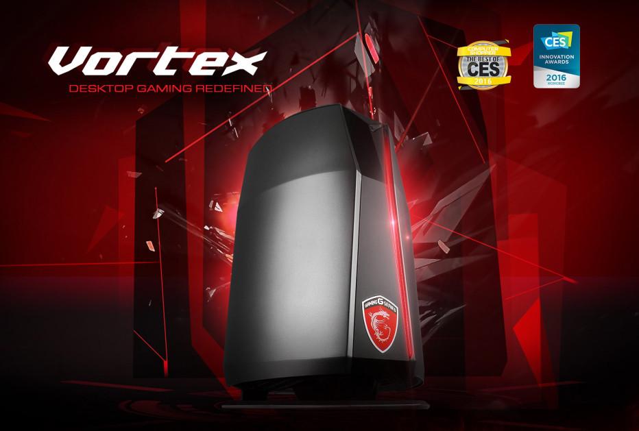 MSI announces Vortex G65 gaming PCs