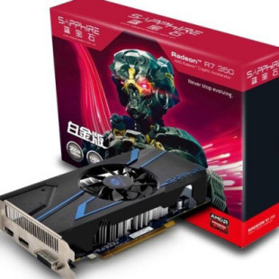 AMD quietly unveils Radeon R7 350 card in Asia