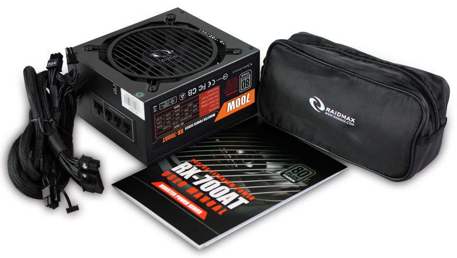 Raidmax presents the RX-700AT PSU
