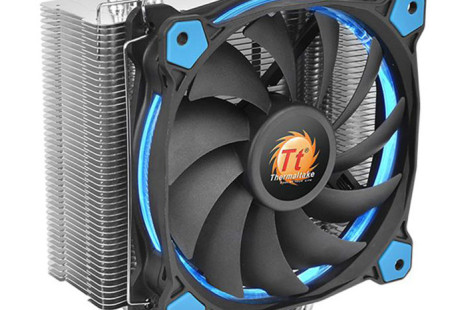 Thermaltake offers Riing Silent 12 CPU cooler