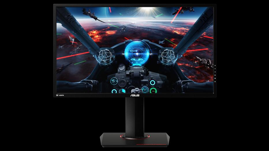 ASUS presents three new gaming monitors