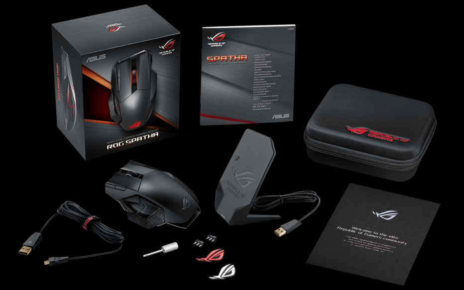 ASUS reveals the ROG Spatha gaming mouse