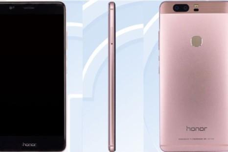 TENAA certifies the Huawei Honor V8 smartphone