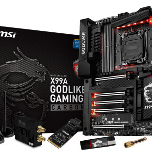 MSI unveils the X99A GODLIKE Gaming Carbon motherboard