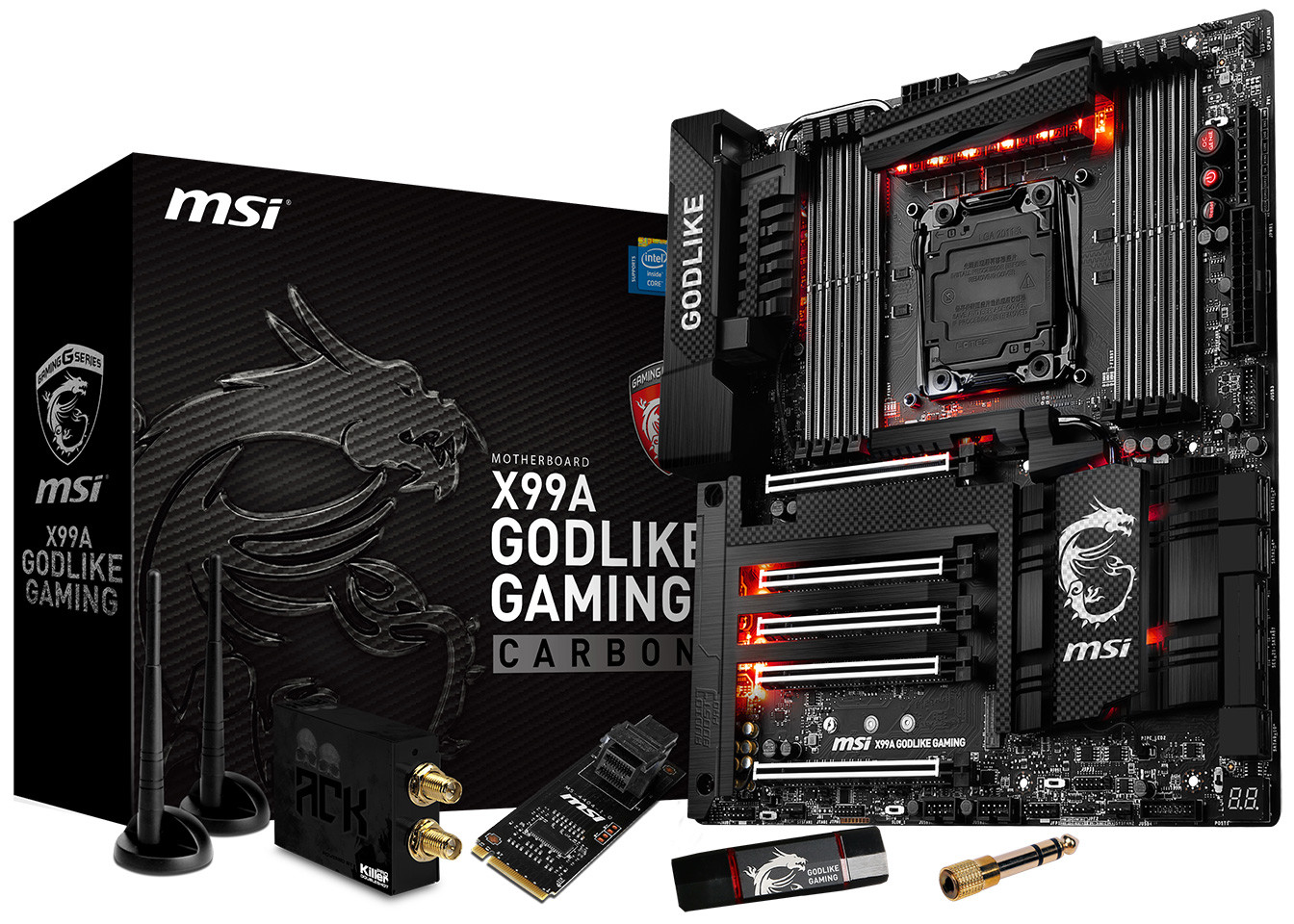MSI X99A Gaming Carbon