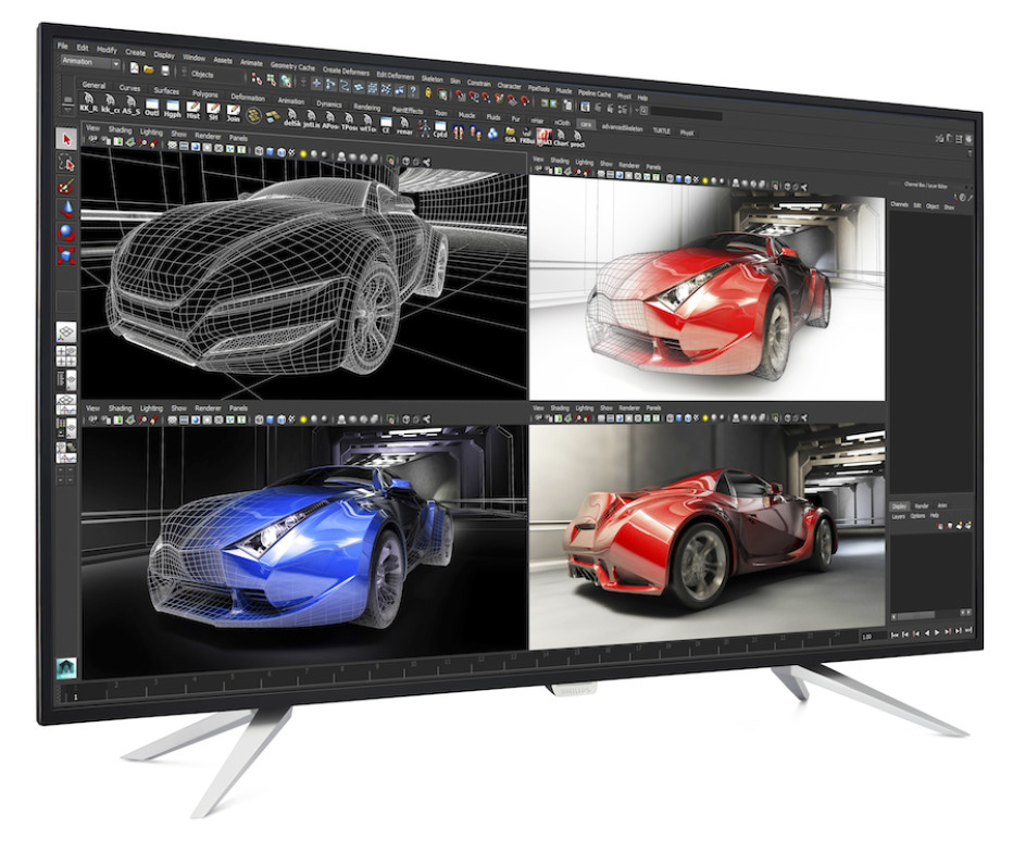 Philips announces the BDM4350UC 4K monitor