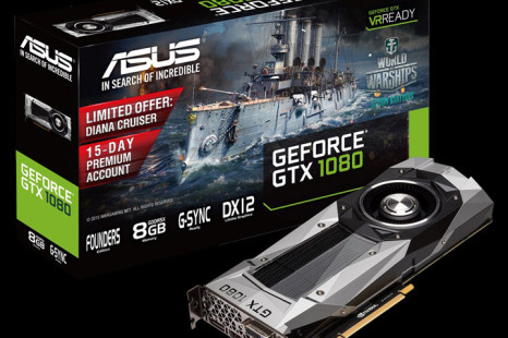 ASUS presents GeForce GTX 1080 FE graphics card