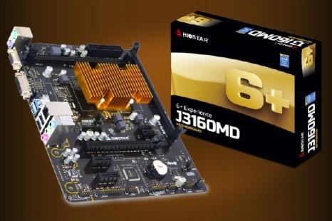 Biostar presents the J3160MD motherboard