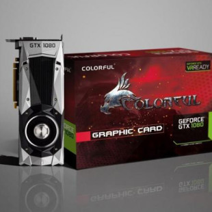 Colorful presents its GeForce GTX 1080 video card