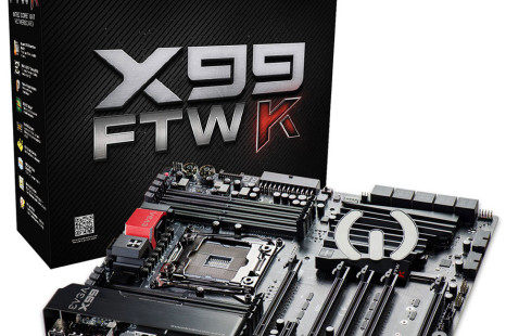 EVGA reveals the X99 FTW K motherboard