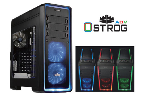 Enermax launches the Ostrog ADV LED chassis