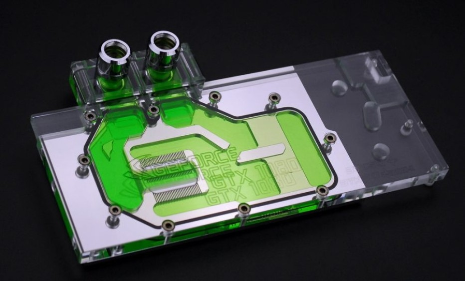 First water block for GeForce GTX 1080 gets announced