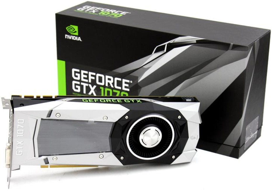 The GeForce GTX 1070 gets benchmarked