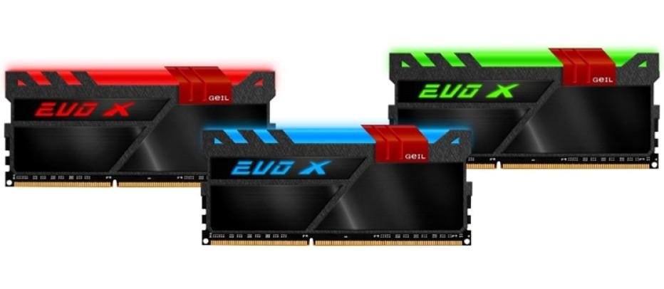 GeIL announces Evo-X DDR4 memory