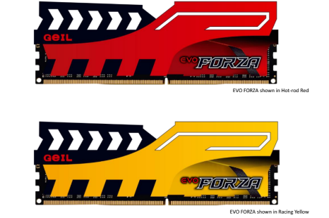 GeIL presents Evo Forza DDR4 memory