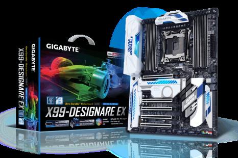 Gigabyte unveils GA-X99-Designare EX motherboard