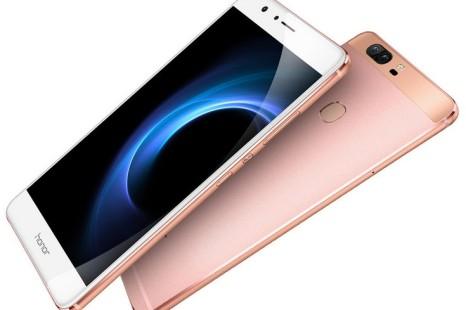 Huawei presents the Honor V8 smartphone