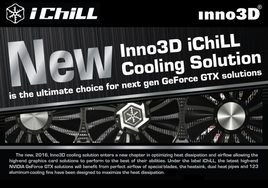 Inno3D reveals iChill X4 cooling solution for video cards