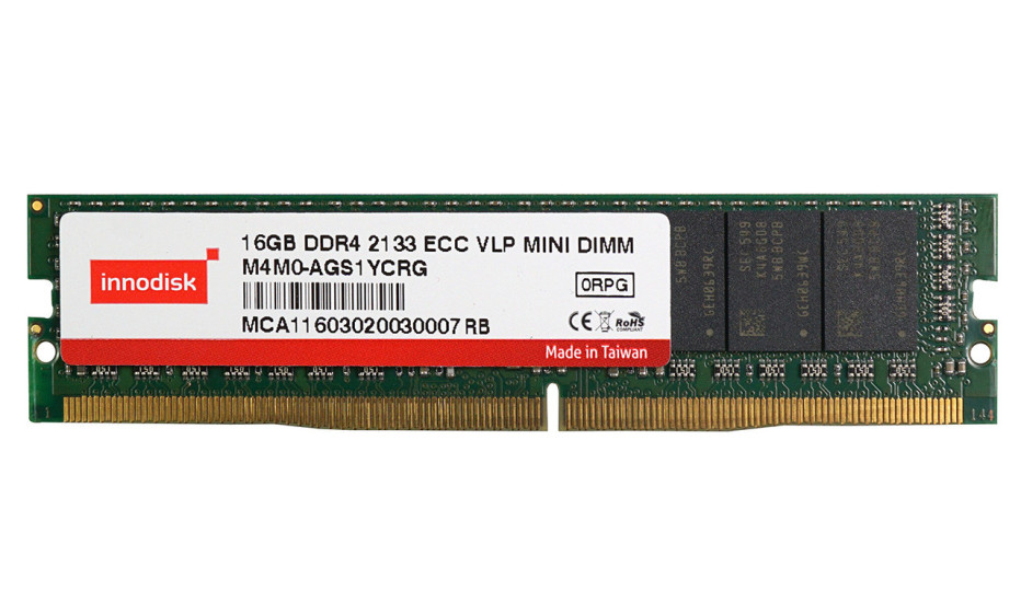 Innodisk presents mini DDR4 memory modules