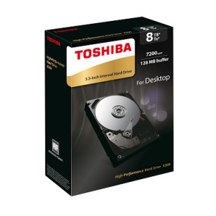Toshiba announces 8 TB X300 hard drive