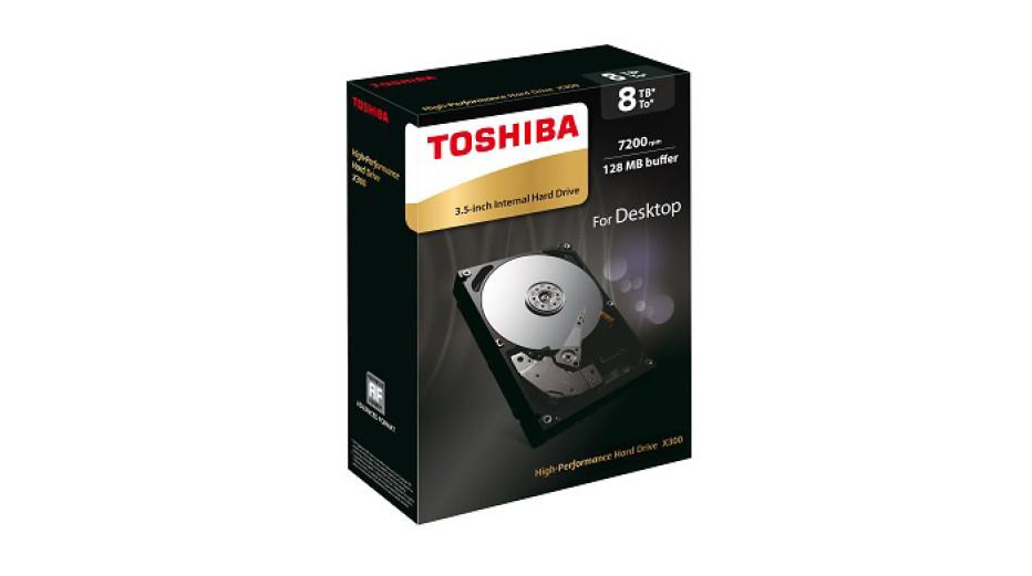 Toshiba announces 8 TB X300 hard drive