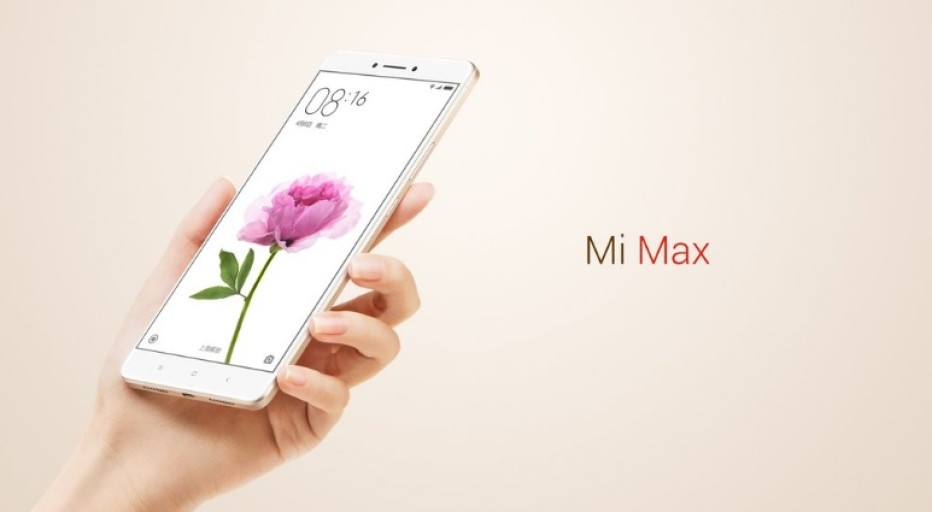 Xiaomi announces the Mi Max smartphone
