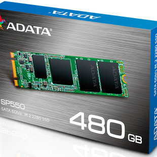 ADATA releases the Premier SP550 M.2 2280 SSD line