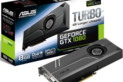 ASUS debuts the GeForce GTX 1080 Turbo