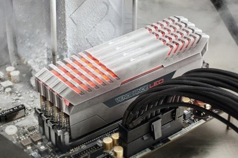 Corsair debuts the Vengeance LED DDR4 memory